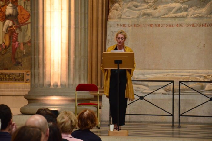 Germaine de Staël - Panthéon - (c) La Voix d'un texte