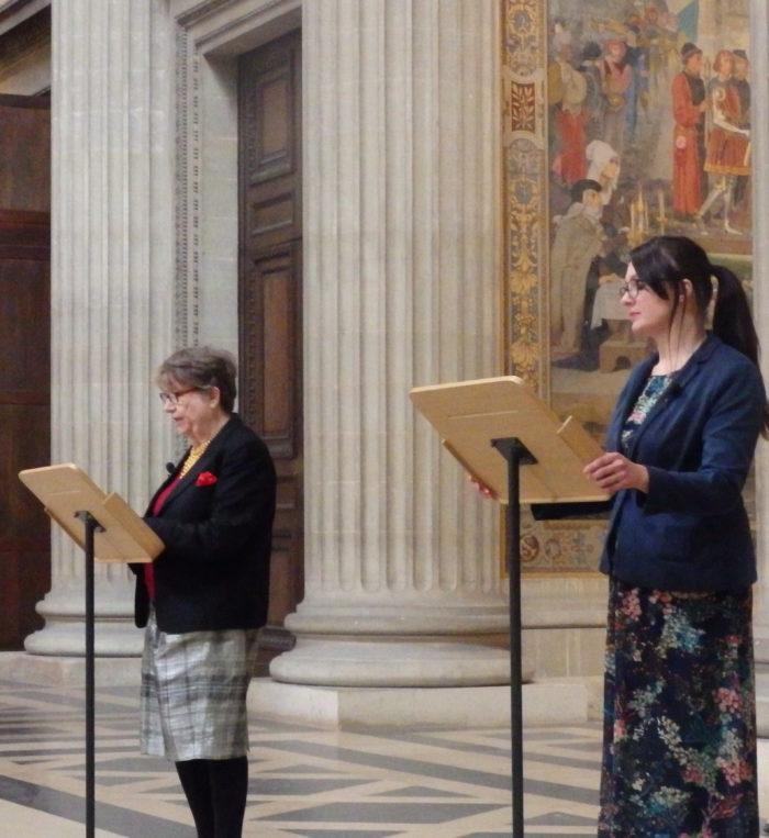 Christine de Pizan - Panthéon - (c) La Voix d'un texte